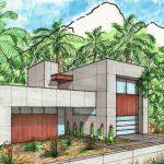 Casa amplia y moderna con pre moldeados