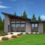 Planos de casas modernas de 60 m2