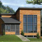 Casa pequeña y moderna de 70 metros cuadrados