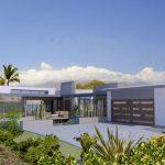 Planos de casas en L de una planta