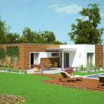 Planos de casas modernas con piscina