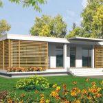 Planos de casas modernas con galerías