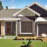 Diseño de casa modernas con 3 dormitorios y 2 baños