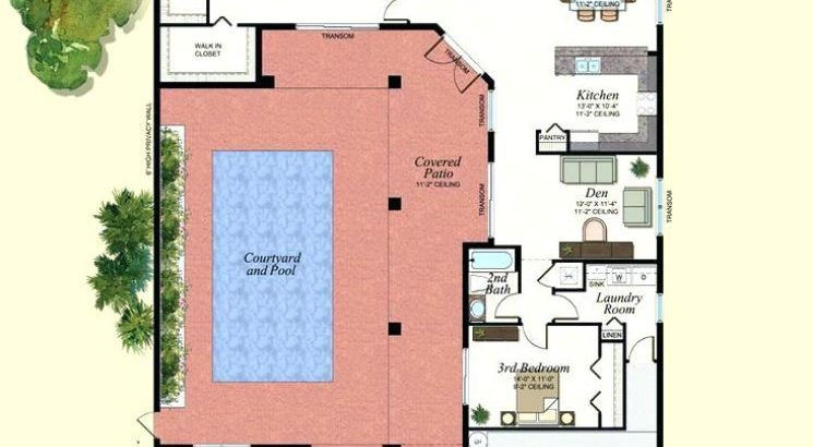 Piscina planos de casas modernas for Planos de piscinas temperadas