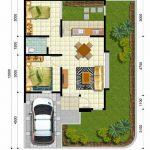 Planos de casas para terrenos en esquina