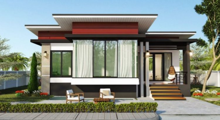 2 dormitorios planos de casas modernas for Diseno casas minimalistas economicas