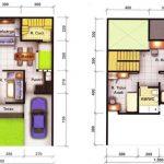 6 Planos de casas tipo duplex con medidas