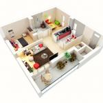 8 Modelos de viviendas de dos dormitorios económicas