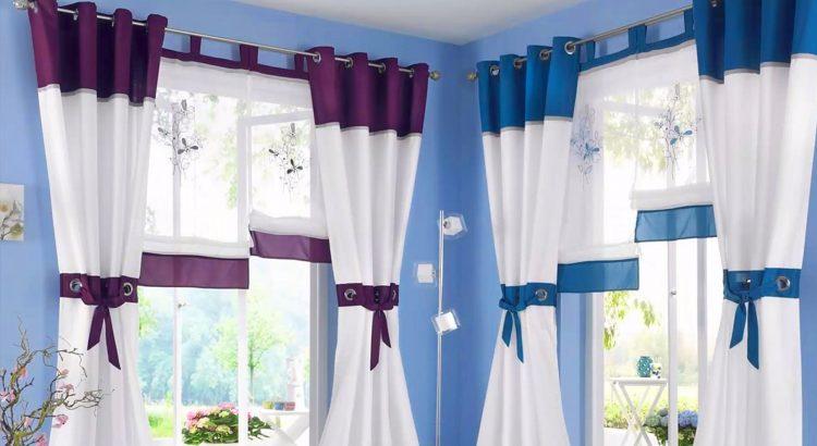 disenos de cortinas para cocina | Planos de casas modernas